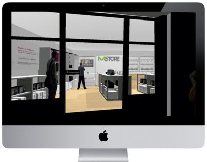 MStore - 3D Render - Chiriquí - Panamá