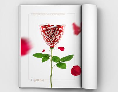 Qadeem Valentine's Day ad