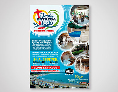 Afiche Camping Carnaval