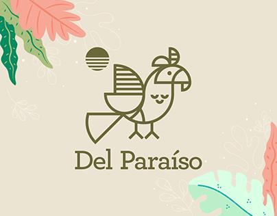 Del Paraíso Smoothies Branding