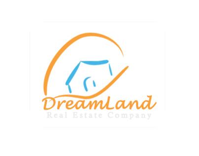 DreamLand .. Real Estate Company Logo