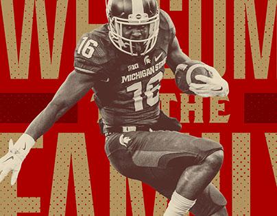 2016 49ers Draft Social Graphics