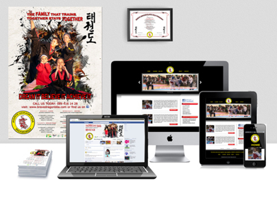 Advertisement Campaign Brave Dragon Taekwondo Academy