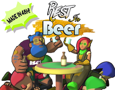 3D - Rest in Beer (Gamejam Game)