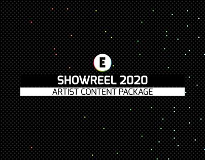 Artist Showreel - Content Package