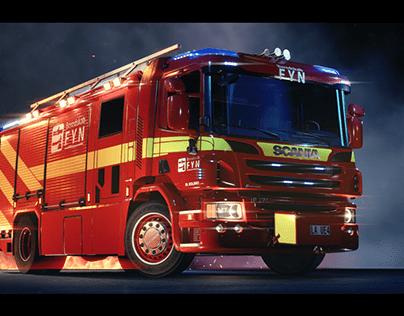 Fire Truck | UE4