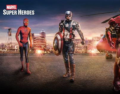 Marvel Super Heroes Bigsize Banner for Johanniter