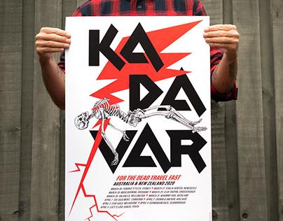 Kadavar Auz/NZ 2020 poster