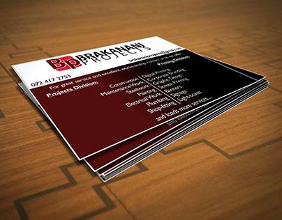 Brakanani Projects Digital Ad