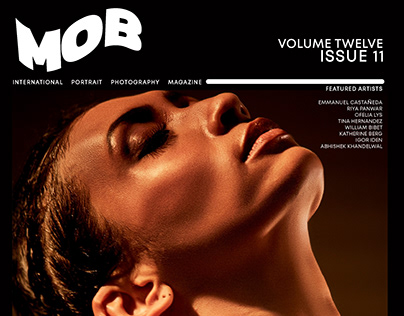 Editorial cover story - Mob Magazine