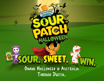 Sour Patch Kids Halloween Campaign