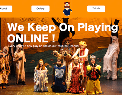 The National Egyptian Theatre For Children Website