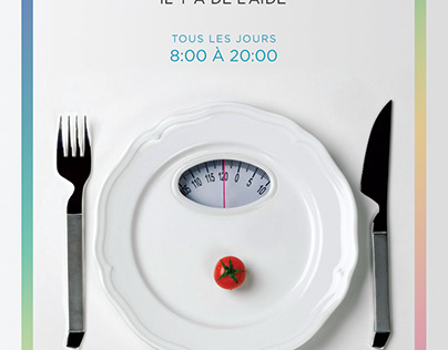 Flyer Trouble alimentaire
