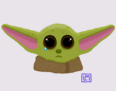 Sad Baby Yoda (Grogu)