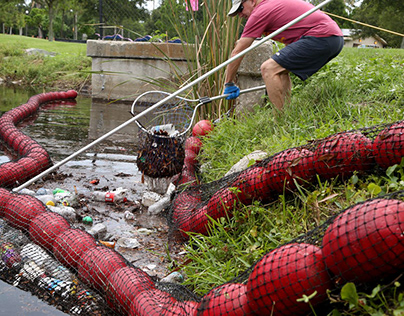 Plastic pollution in Tampa Bay is bigger than straws.