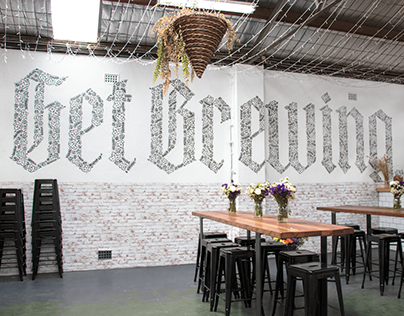 Get Brewing: 2nd Mural