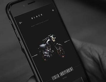 Black - application