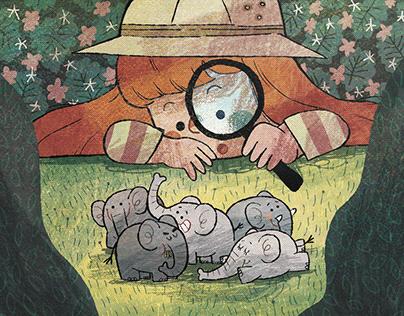 Children's Illustrations (Selected works)