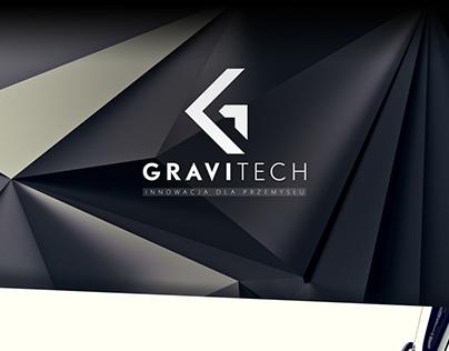 .gravitech. layout + logo