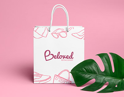 Beloved Retail Shop - Logo design