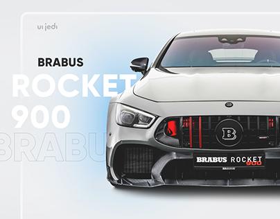 BRABUS Rocket 900 — Landing page design