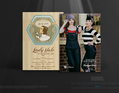 LADY YULE - The Vintage Spirit Store Dresden • Flyer