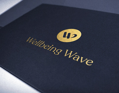 Brand identity and logo design for Wellbeing Wave