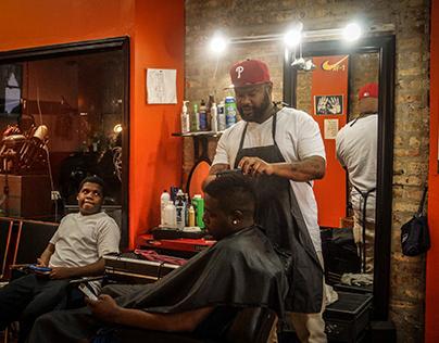 Barbershop Doc BTS