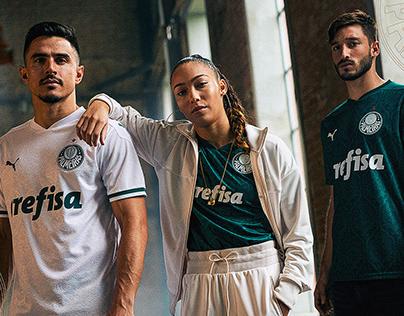 Graphic Design Palmeiras Kits 2020/21