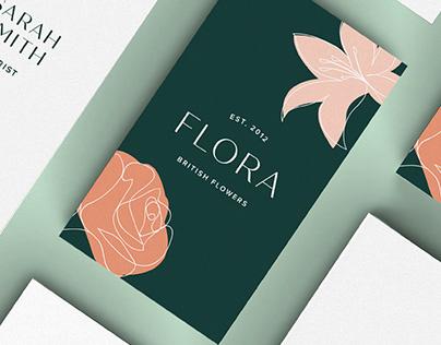 Flora Florist Branding