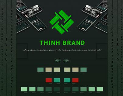 Web Design Thinhbrand.com