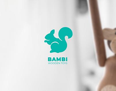 BAMBY WOODEN TOYS logo