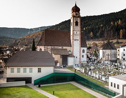 Tesimo – ampliamento del cimitero