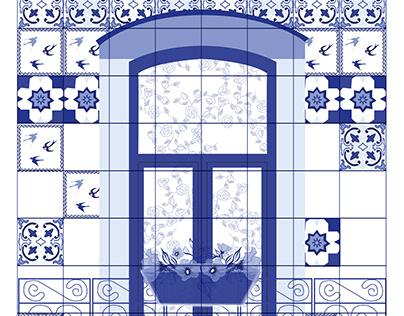 A janela azul