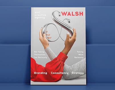 &WALSH Magazine Cover