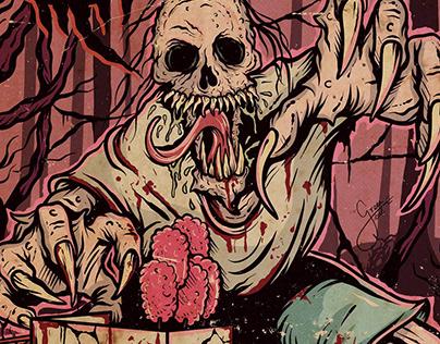 Cover Art Diário Macabro Magazine #07