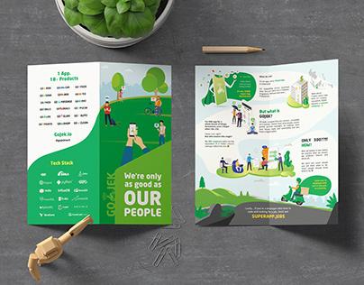 GoJek - Bifold Brochure