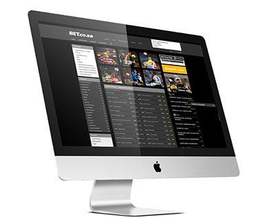 BET.co.za - Web Design Improvements