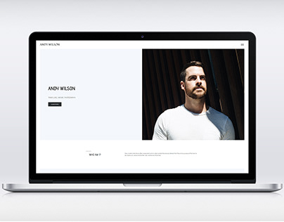 Personal Blog website design