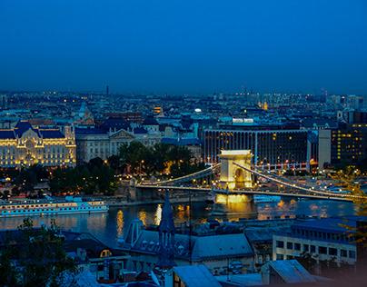 Prospects of Budapest (Hungary)