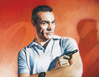 Sean Connery - Dr. No - James Bond - 1962