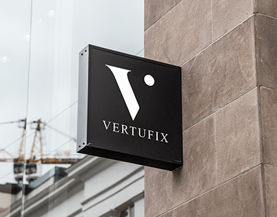 Vertufix Logo Design