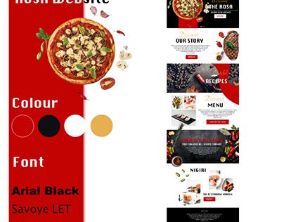 fast-food website