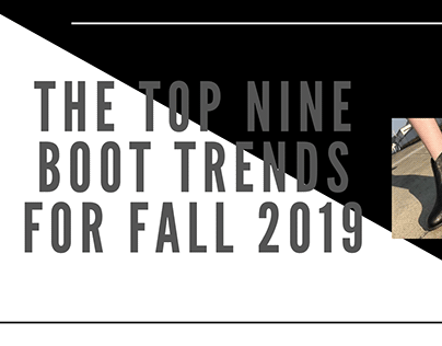 The Top Nine Boot Trends for Fall 2019