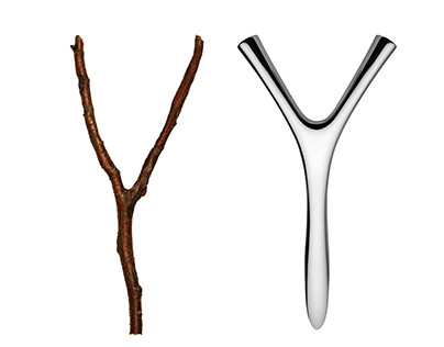 VIRGULA DIVINA bottle opener for ALESSI