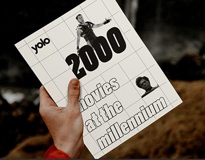 magazine/brochure — movies at the millennium 2000