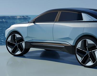 Audi h-tron Glaciah