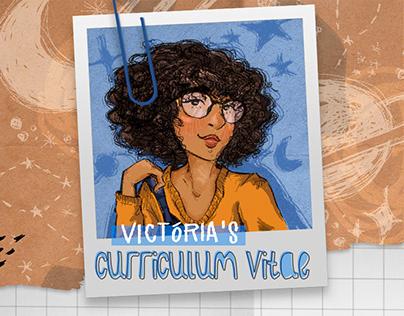 Curriculum Vitae   Victória Alves