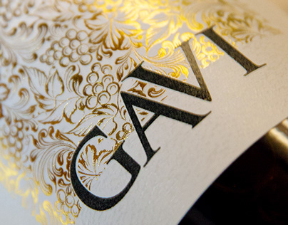 GAVI Wine Label