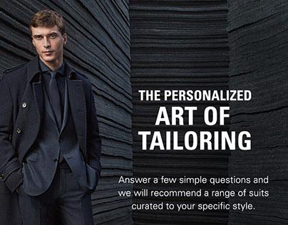 Hugo Boss - The Art of Tailoring